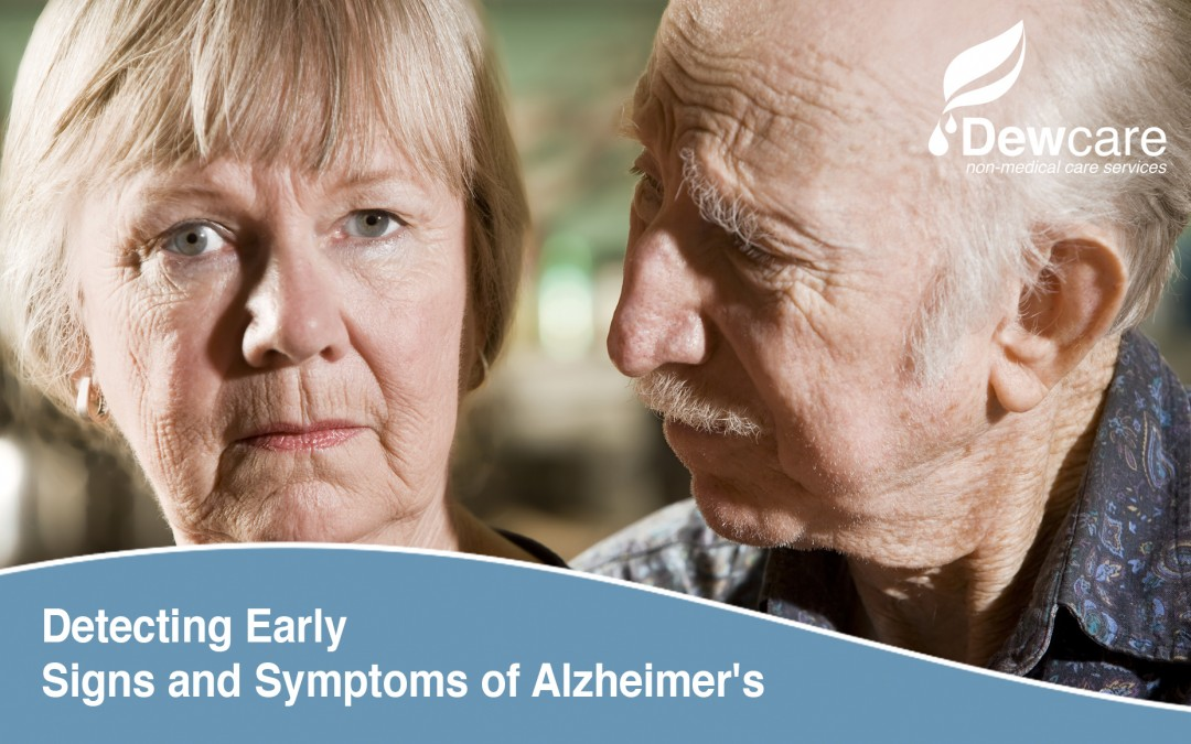 Detecting Early Signs and Symptoms of Alzheimer's